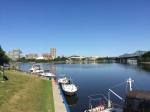 Ottawa vue sur Gatineau