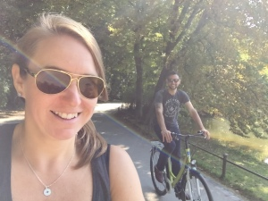 Biking in Munich