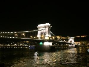 Chains bridge Budapest